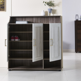 Angelic Rectangular 3-Door Shoe Cabinet