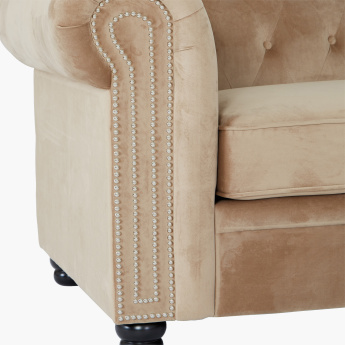 Claymont 2-Seater Sofa with Tufted Back
