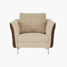 Brent Textured Single-Seater Sofa