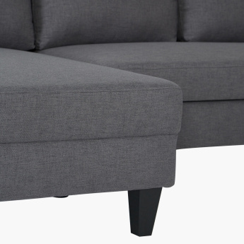 Sydney Textured Left Corner Sofa Bed
