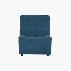 Burton Tufted Armless Chair