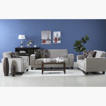 Sharon 2-Seater Sofa with Cushions