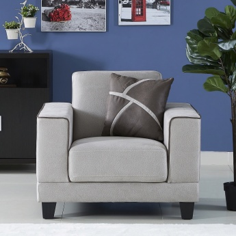 Sharon Single-Seater Sofa with Cushion