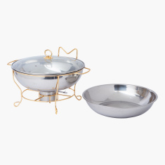 Wellshine Chafing Dish with Lid and Stand