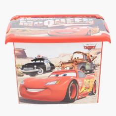 Cars Printed Box with Lid - 20 L