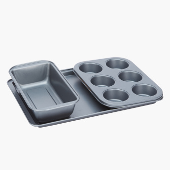Crystal 3-Piece Baking Pan Set