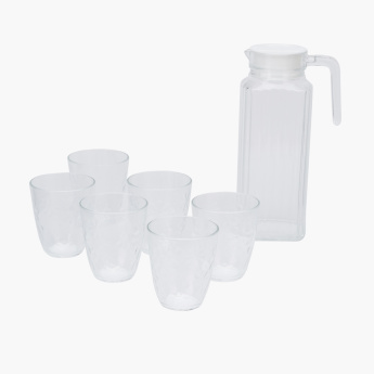Pearl Neo Flower 7-Piece Drinkware Set