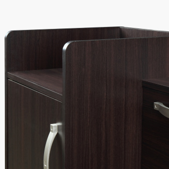Costagat Study Desk with 2 Doors and 1 Drawer