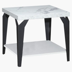 Marbella End Table with Undershelf