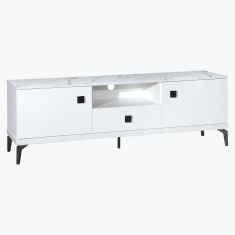 Marbella Rectangular Low TV Unit for TVs up to 75 inches