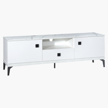 Marbella Rectangular Low TV Unit
