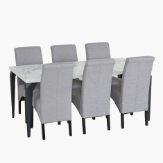 Marbella 6-Seater Dining Table Set