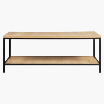 Urban Rectangular Coffee Table with Undershelf