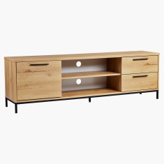 Urban Rectangular Low TV Unit for TVs up to 75 inches