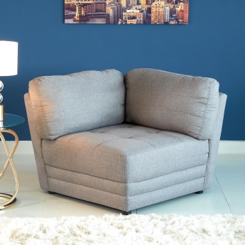 Curvy Fixed Back Corner Sofa