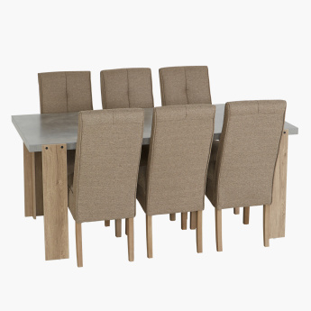 Cementino 6-Seater Dining Set