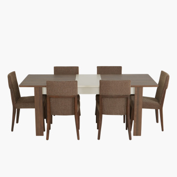 Valentina Extendable 6-Seater Dining Set