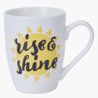 Rise and Shine Printed Mug - 350 ml