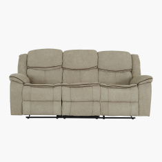 Angus Textured 3-Seater Recliner Sofa
