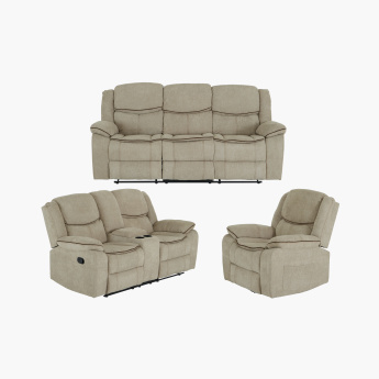 Angus 2-Seater Recliner with Cup Holders