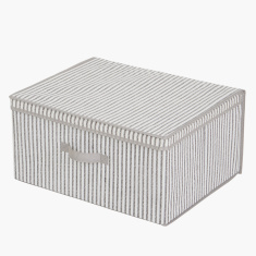 Ebase Rectangular Storage Box with Handle and Lid
