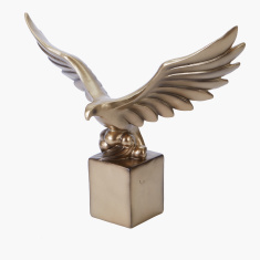 Decorative Falcon Figurine