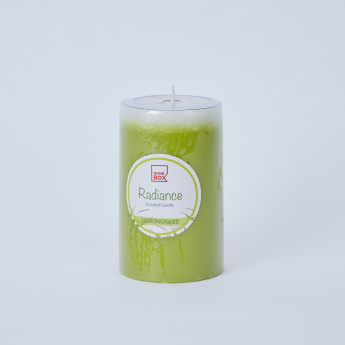 Radiance Lemon Grass Pillar Candle