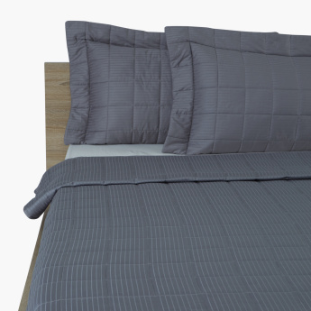 Ontario Striped 3-Piece King Quilt Set - 260x250 cms