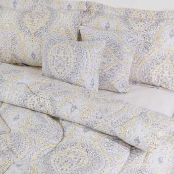 Sepang Printed 5-Piece King Comforter Set - 240x220 cms