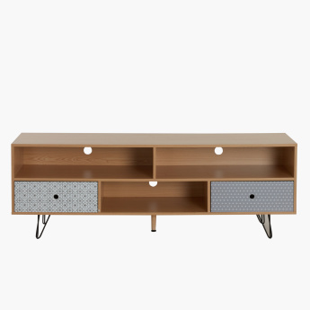 Morroco 2-Drawer Low TV Unit