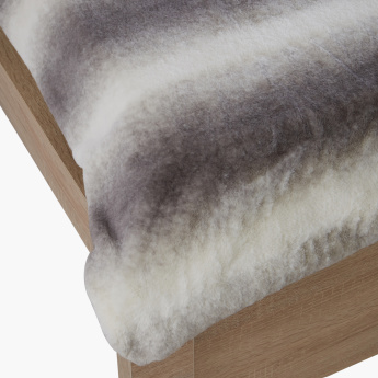 Faux Rabbit Fur King Blanket - 240x220 cms