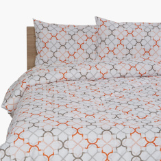Rabat Printed 3-Piece Twin Comforter Set - 160x220 cms