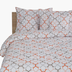 Rabat Printed 5-Piece King Comforter Set - 220x240 cms