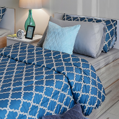 Tamara Printed 2-Piece Twin Comforter Set - 160x220 cms