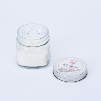 Radiance Sweet Vanilla Scented Candle Jar