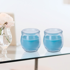 Radiance Sea Breeze Scented Mini Jar Candle - Set of 2
