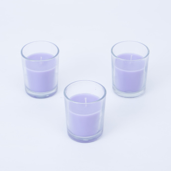 Radiance Lavendar Mini Scented Candle - Set of 3