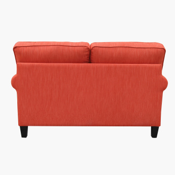 Angelic Textured 2-Seater Sofa with Cushions