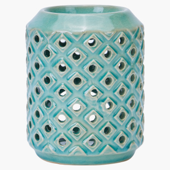 Oil Burner with Cutout Detail - Large