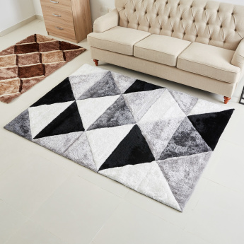 Urban 3D Textured Shaggy Rug - 120x170 cms