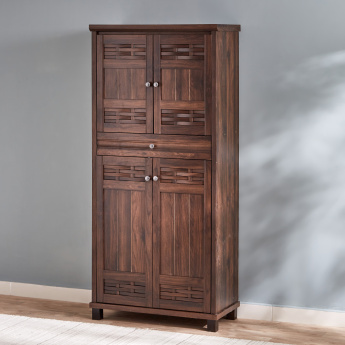 Peyton 4-Door 1-Drawer Shoe Cabinet