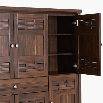 Peyton 1-Drawer 6-Door Shoe Cabinet
