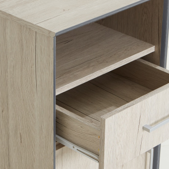 Etzy 1-Drawer 1-Door Storage Unit for Office Table