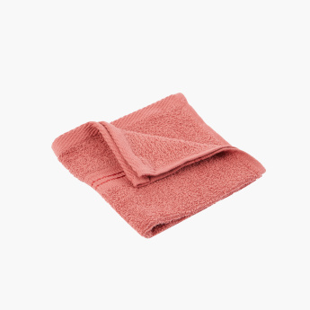 Essential Textured 4-Piece Face Towel Set - 30x30 cms