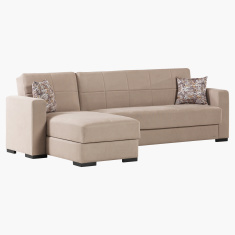 Bercy Corner Sofa Bed with Storage
