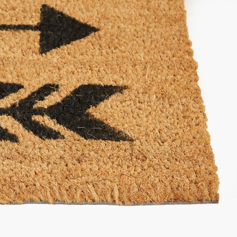 Arrow Printed Doormat - 45x75 cms
