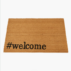 Welcome Printed Doormat - 60x90 cms