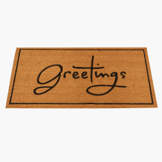 Greetings Printed Doormat - 60x120 cms