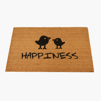 Happiness Printed Doormat - 60x90 cms