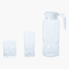 Pearl 13-Piece Drinkware Set